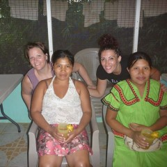 Jen, Amalia, Ashley and Nereida