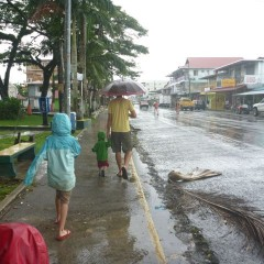 Rainy day in Bocas